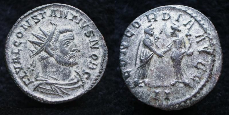 Le IIIème siècle d'aureus78 - Page 3 Consta11
