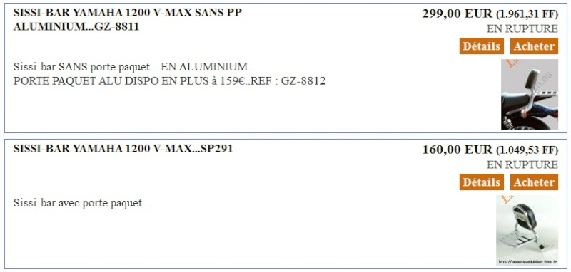 sissi bar pour vmax 1200 Sissi_10