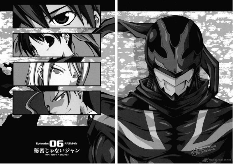 Ratman [de Inui Sekihiko chez Kana] Ratman10