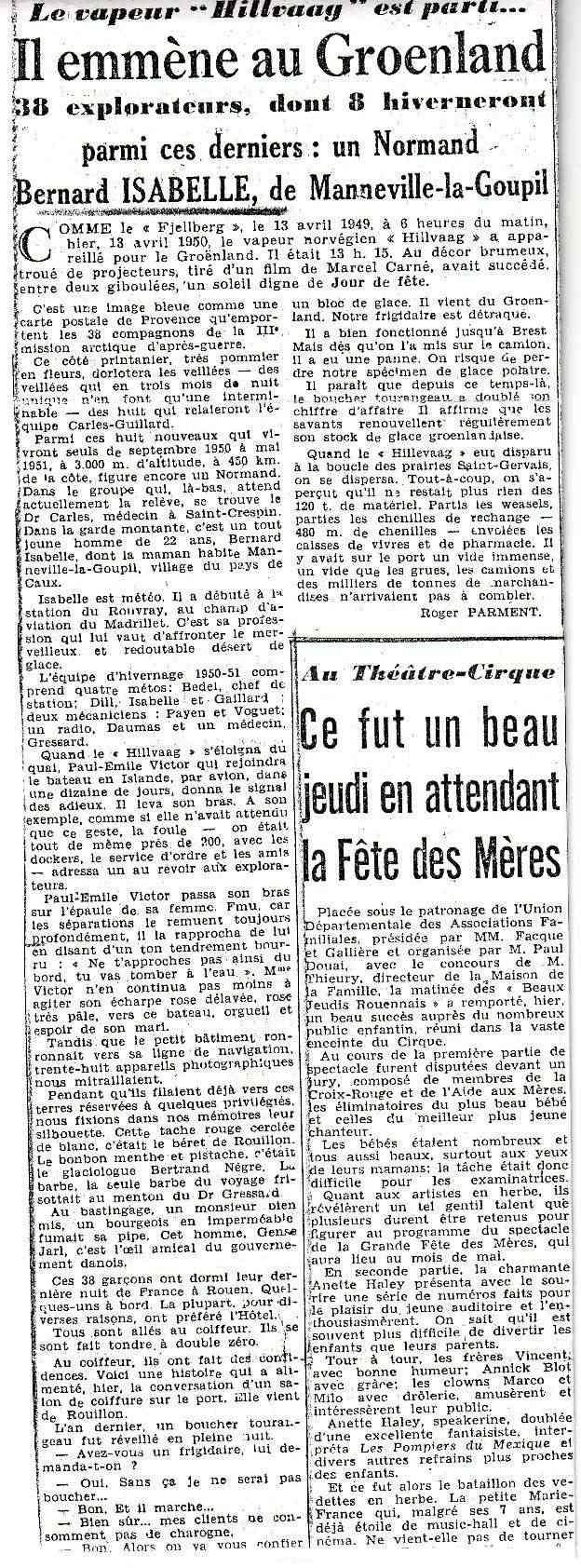 Bernard Izabelle, explorateur polaire cauchois Parisn10