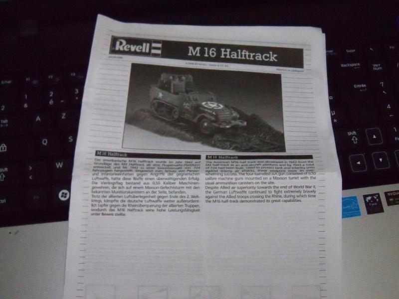M3A1 Half-Track [Unimax 1/72] par Nicolasdu09 et M16 anti-aérien [Revell 1/76] par Panzer ==> Les faux jumeaux. 100_1615