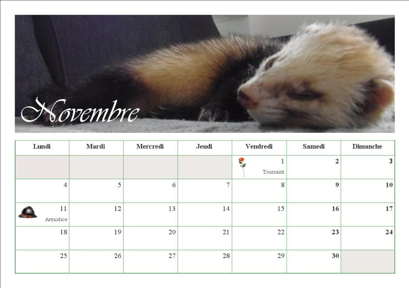 Les calendriers 2013 1210