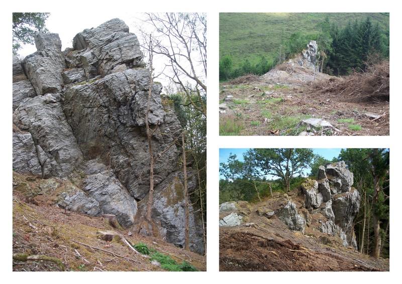 ROC'H AL LAERON, LA CAVERNE DES BRIGANDS Cavern11