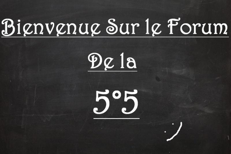 La 5°5 Notre merveilleuse classe! :'3