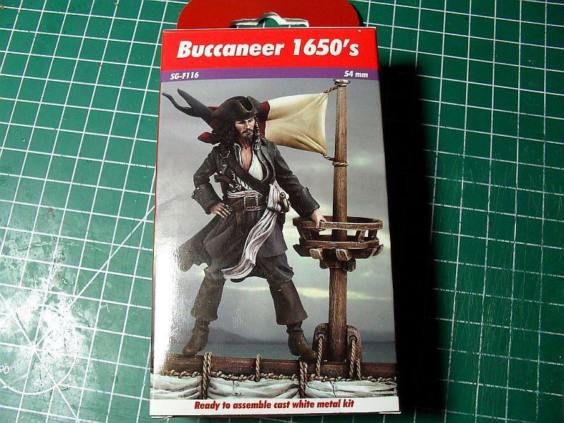 Buccaneer 1650´s von Andrea Miniatures 54mm Sdc12610