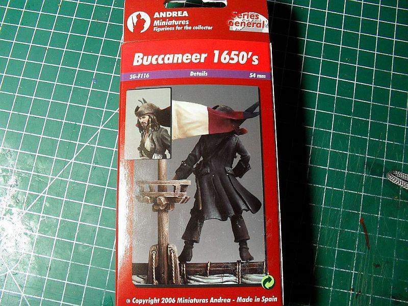 Buccaneer 1650´s von Andrea Miniatures 54mm Sdc12611