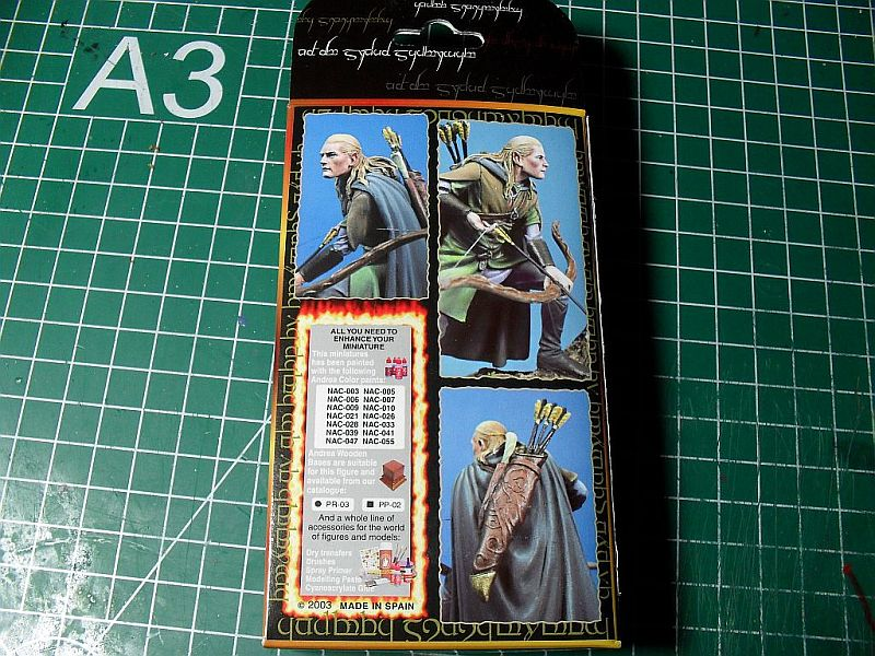 Legolas von Andrea Miniatures 54mm Sdc12615