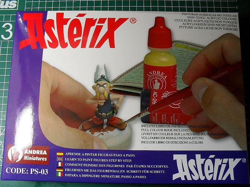 Asterix und Obelix Set 54mm von Andrea Miniatures Sdc12722