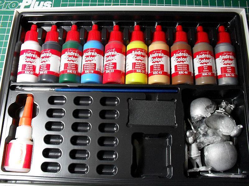 Asterix und Obelix Set 54mm von Andrea Miniatures Sdc12723