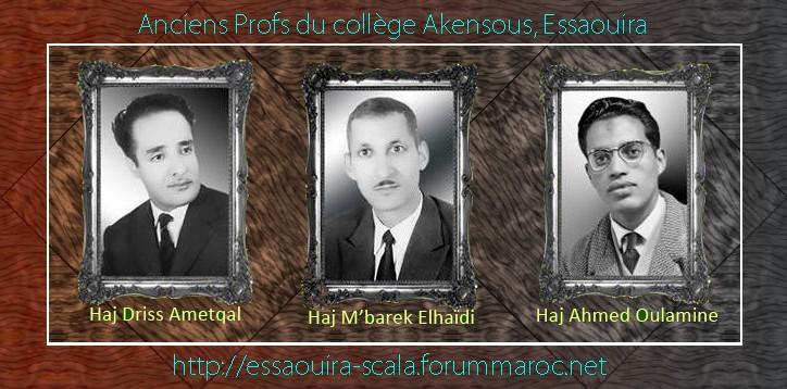 Anciens Professeurs d'AKENSOUS 3ancie10