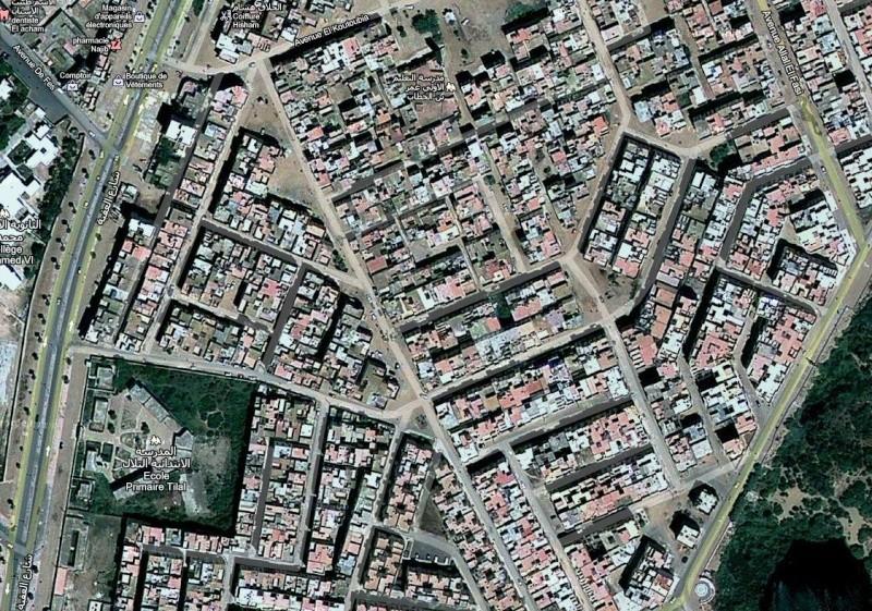 Essaouira : Vues Aériennes * الصويرة : صور جوية Plan_b10