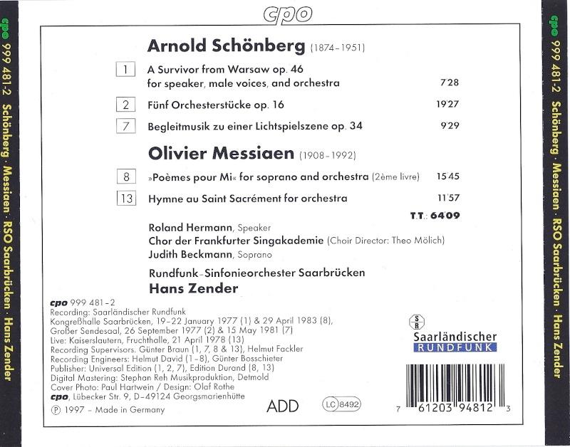 Messiaen - Musique vocale - Page 2 Back10