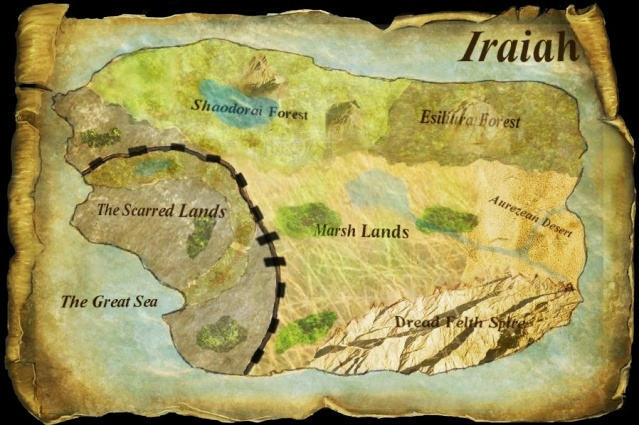 The Regional Map to Iraiah~ Donee13