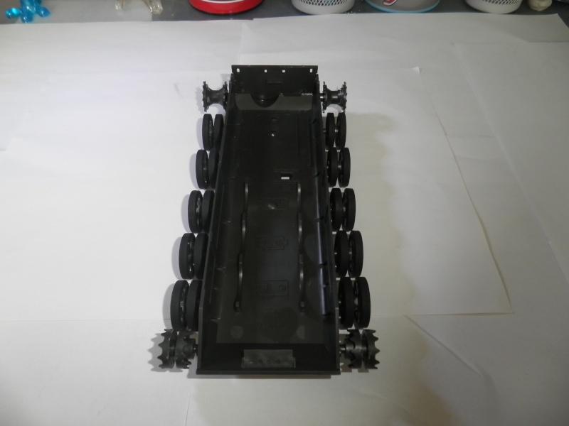 T-62 tamiya + fig zvezda 1:35 montage: FINI  P7060511