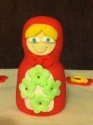 Russie - La matriochka ou la poupée russe en pâte à sucre - Page 2 Img_2412