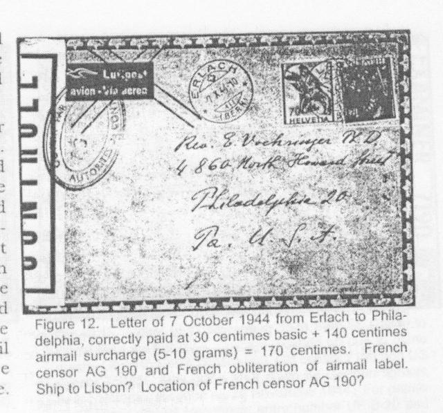 Les censures françaises de la 3° période (Libération) Ag_19010