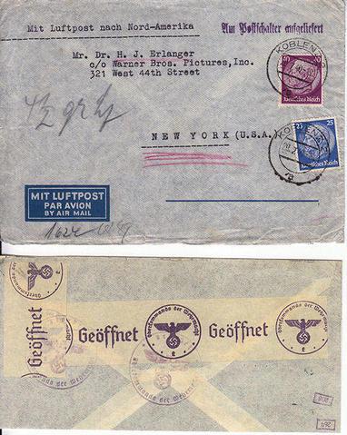 Décret sur les communications de la censure allemande du 02 Avril 1940. (00) Fevrie10