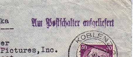 Décret sur les communications de la censure allemande du 02 Avril 1940. (00) Fevrie11