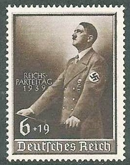 TUNISIE LIBERATION timbres surtaxés Hitler10
