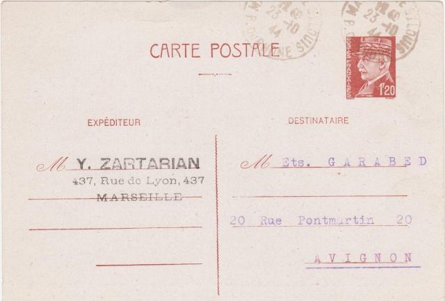 Reprise des relations postales avec les colonies sauf l'Indochine Patain13