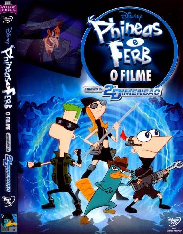 Phineas e Ferb: O Filme – Através da 2ª Dimensão  76394810