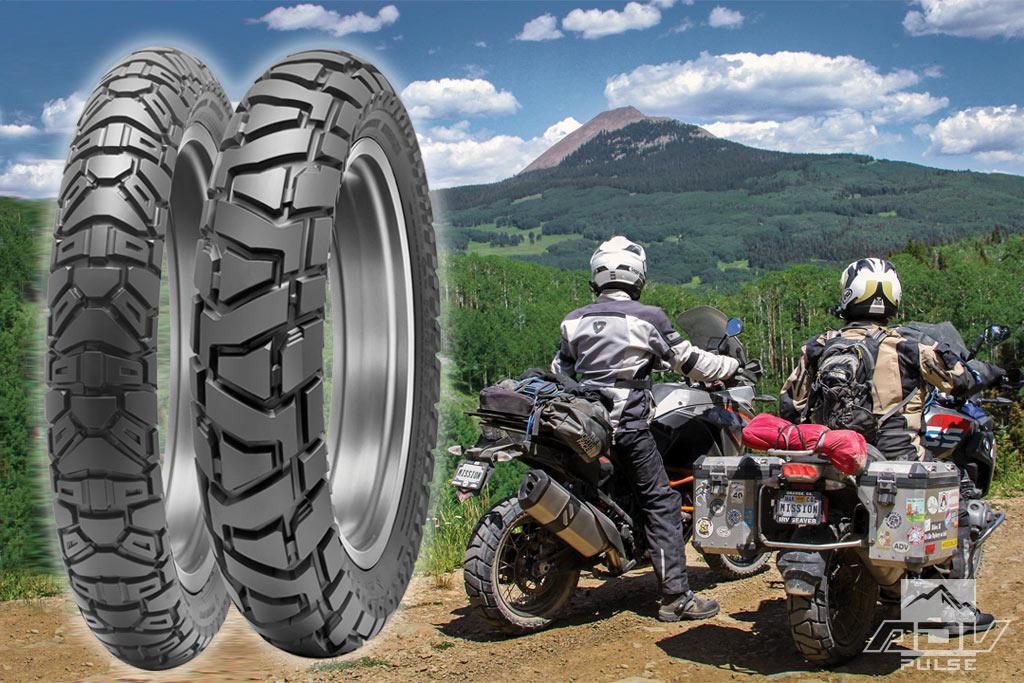 Nouveau pneu Dunlop TRAILMAX MISSION 50% route 50% terre Dunlop10