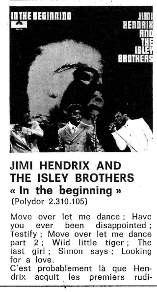 Jimi Hendrix & The Isley Brothers : In The Beginning (ATM 172) Best_316