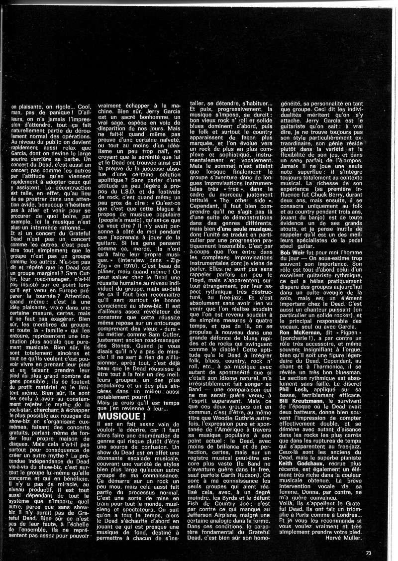 Grateful Dead - Presse Francophone Best_434