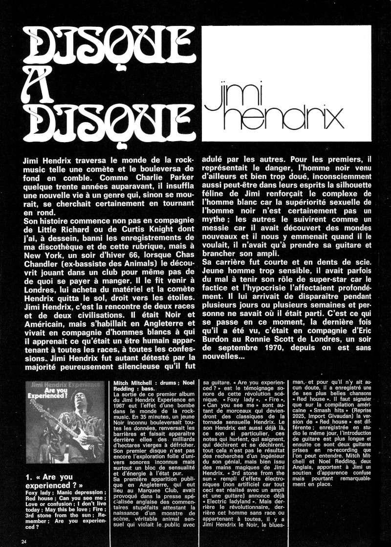 Jimi Hendrix dans la presse musicale française des années 60, 70 & 80 - Page 3 Best_513
