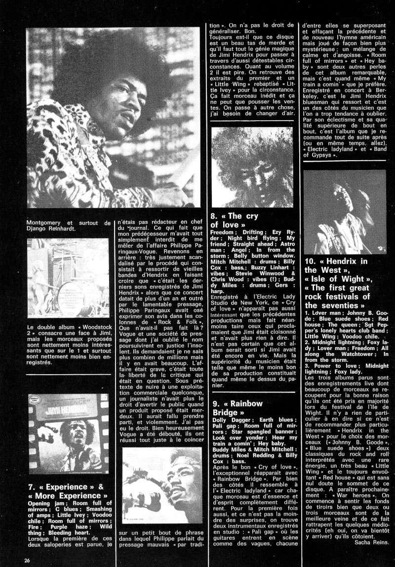 Jimi Hendrix dans la presse musicale française des années 60, 70 & 80 - Page 3 Best_515
