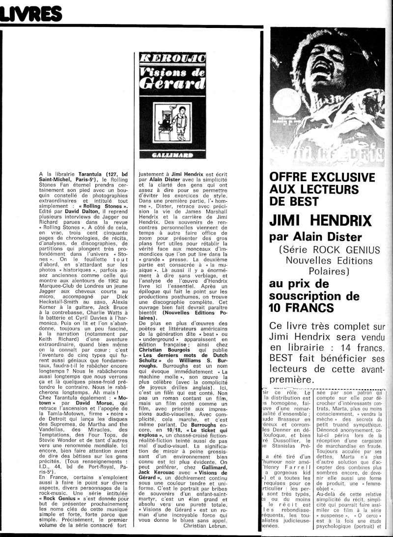 Jimi Hendrix dans la presse musicale française des années 60, 70 & 80 - Page 4 Best_521