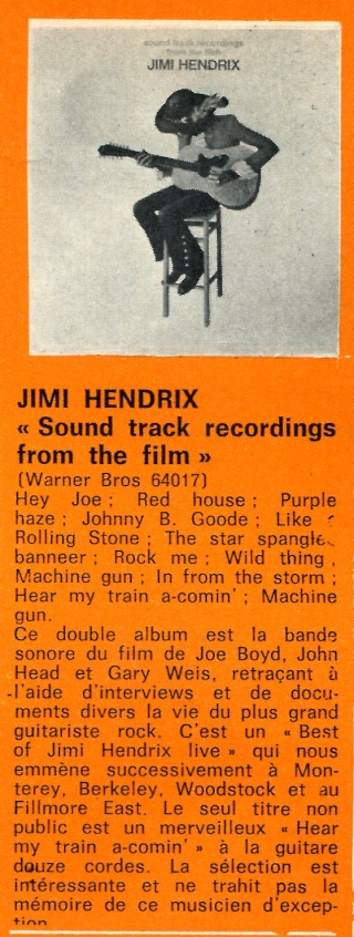 Sound Track Recordings From The Film Jimi Hendrix (1973) Best_610