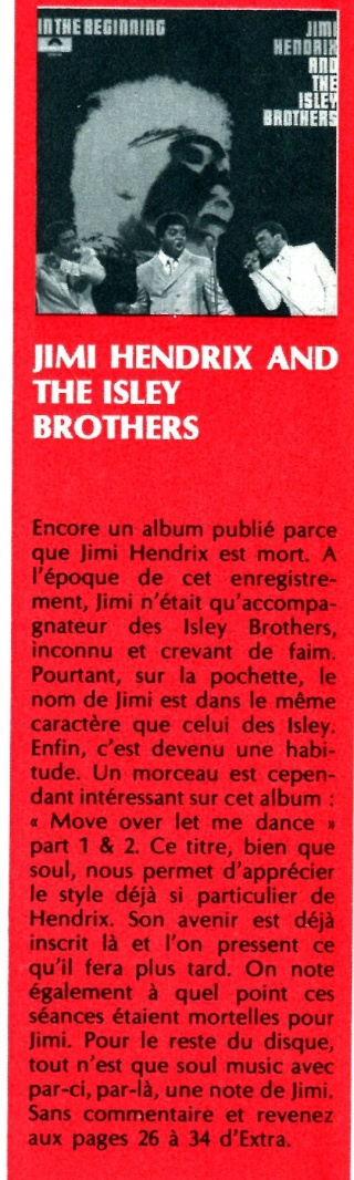 Jimi Hendrix & The Isley Brothers : In The Beginning (ATM 172) Extra_27