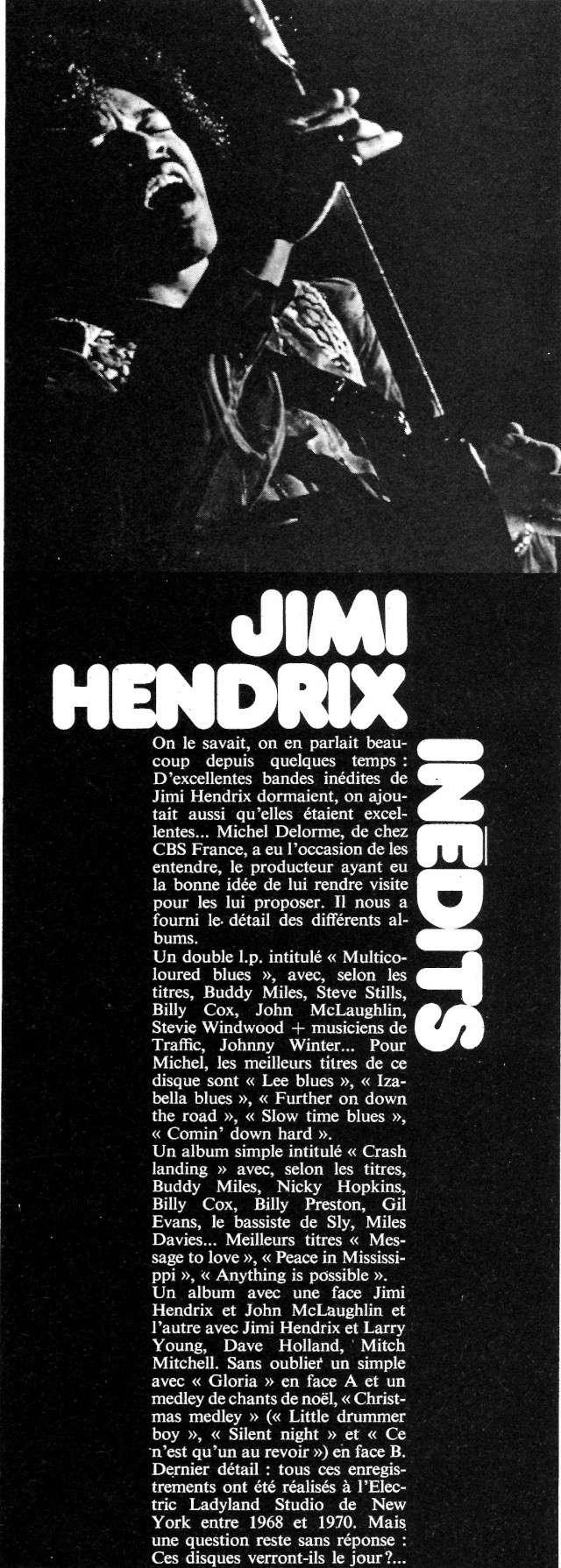 Jimi Hendrix dans la presse musicale française des années 60, 70 & 80 - Page 5 Extra_38