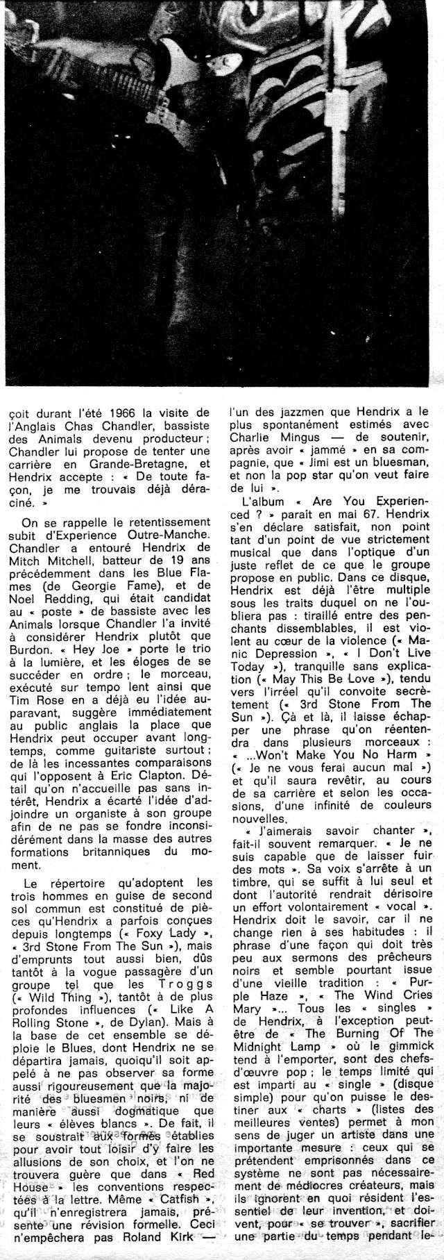 Jimi Hendrix dans la presse musicale française des années 60, 70 & 80 Pm_19411