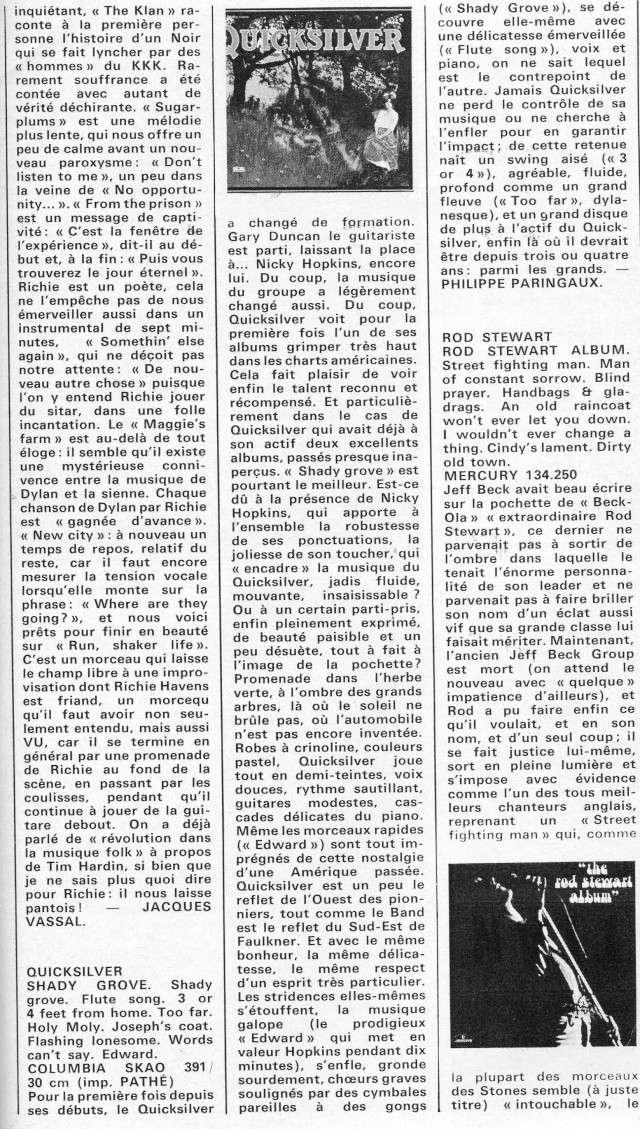 Quicksilver Messenger Service : Happy Trails (1969) R38-0110
