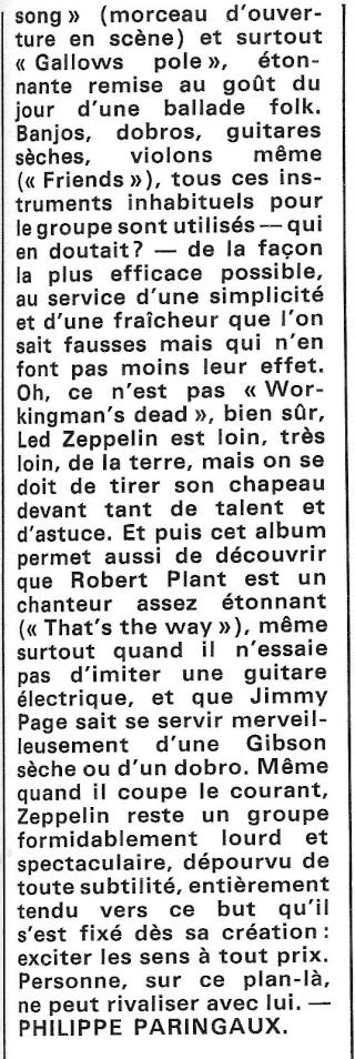 Led Zeppelin III (1970) R45-0924