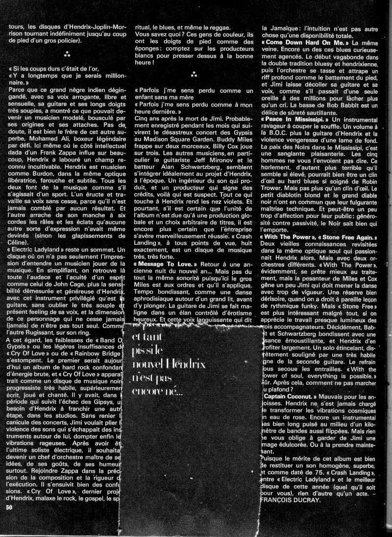 Jimi Hendrix dans la presse musicale française des années 60, 70 & 80 - Page 5 Rnf_1013