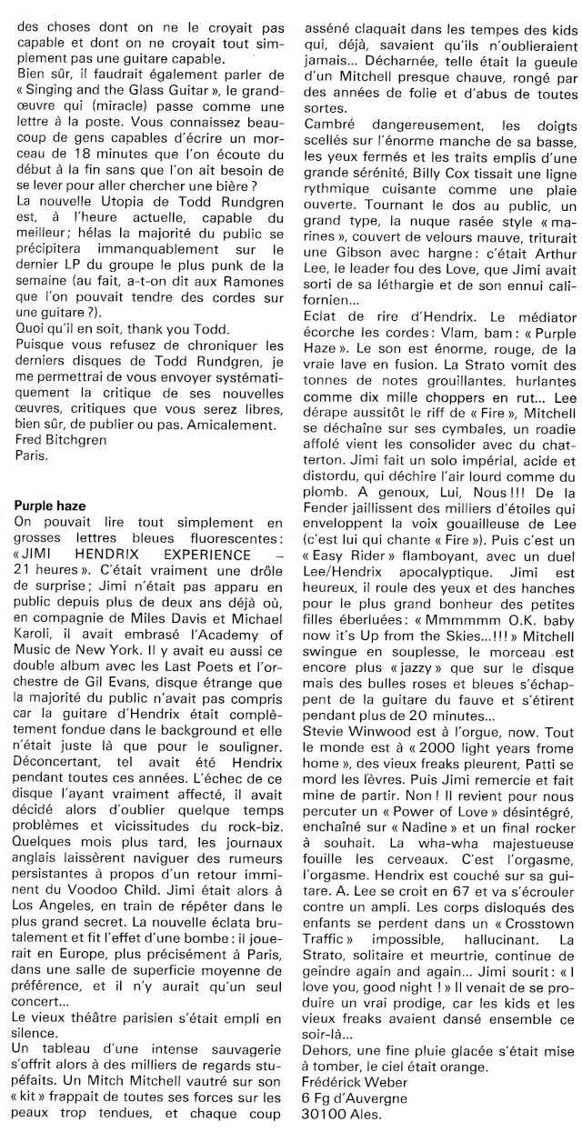 Jimi Hendrix dans la presse musicale française des années 60, 70 & 80 - Page 6 Rnf_1220