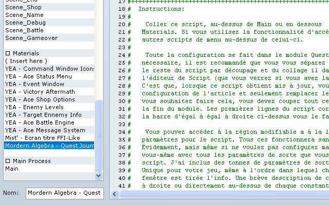 [Menu, Keybind et Map] Script - Affichage de la carte par pression d'un bind ou menu. Script10