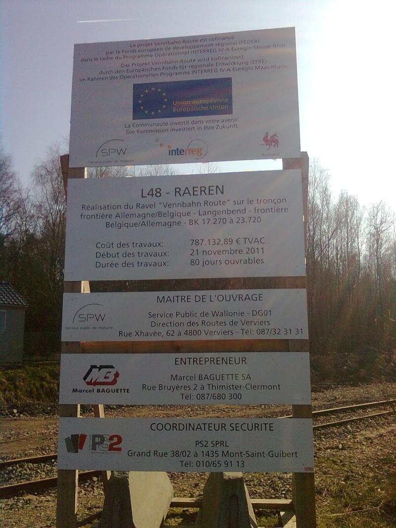 Vennbahn Part 02 Belgique RAVeL L048 Raeren- Roetgen - Itinéraire n°9 Photo011