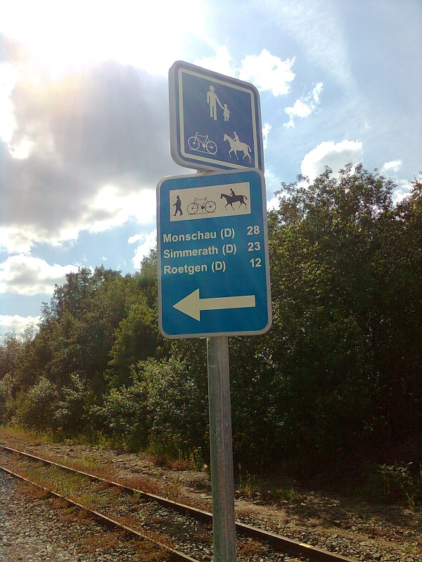 Vennbahn Part 02 Belgique RAVeL L048 Raeren- Roetgen - Itinéraire n°9 Raeren11