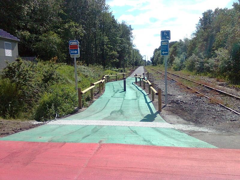 Vennbahn Part 02 Belgique RAVeL L048 Raeren- Roetgen - Itinéraire n°9 Raeren13