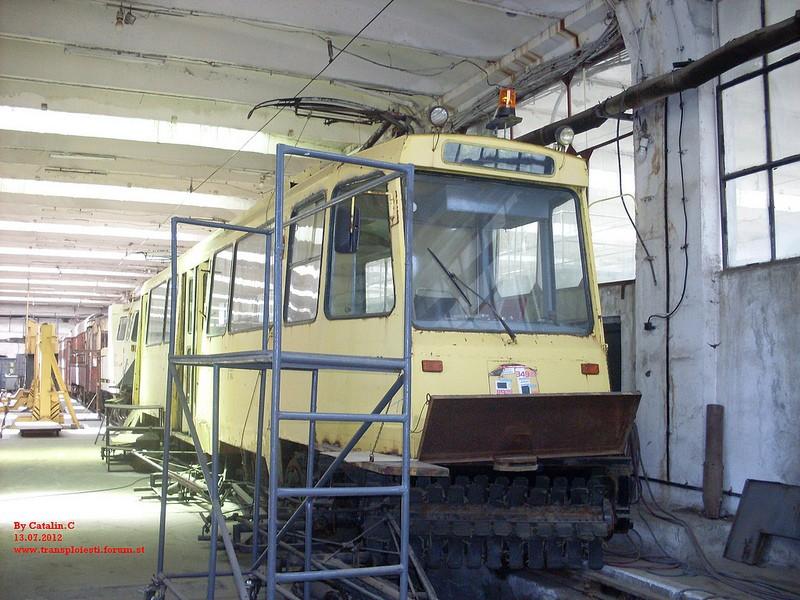 Depoul de tramvaie T.C.E. Ploiești 75669111