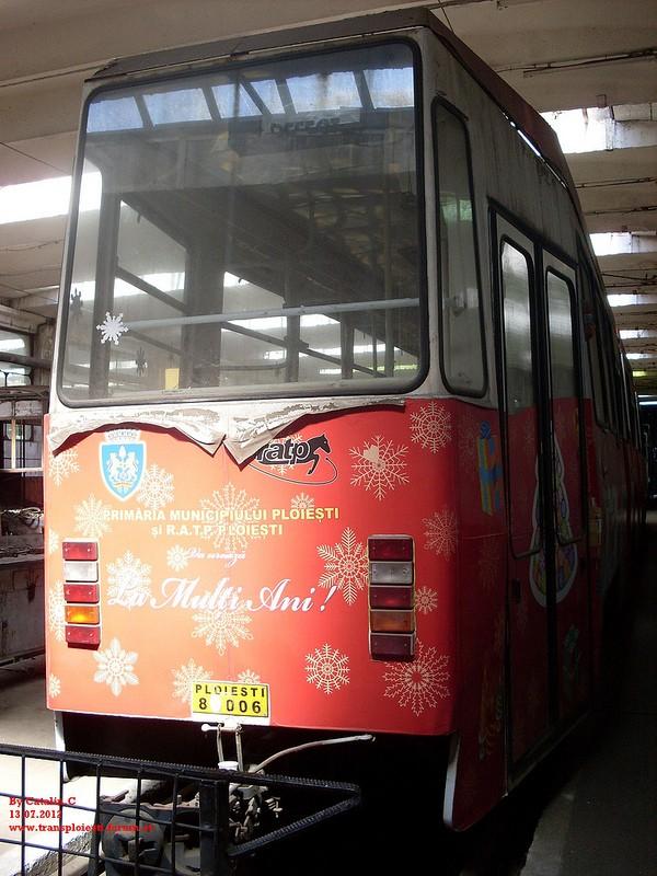 Depoul de tramvaie T.C.E. Ploiești 75669115
