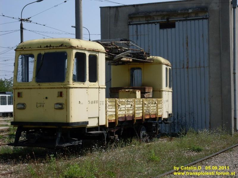 Depoul de tramvaie T.C.E. Ploiești Sdc10618