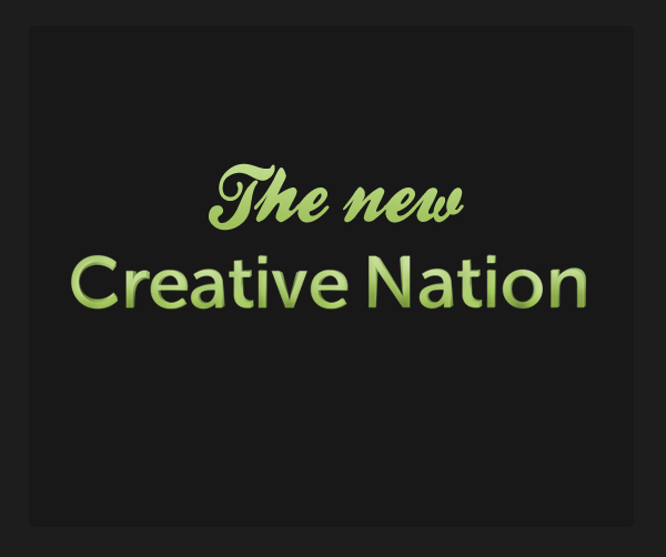 The new Creative Nation! Cn10