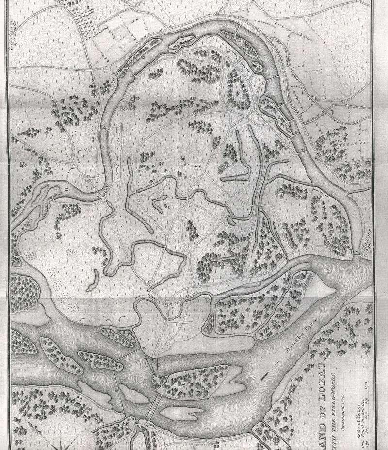 DIORAMA PROVISOIRE, DÉCOR PERMANENT : ASPERN, ESSLING, LOBAU, WAGRAM 1809.  Bridge10