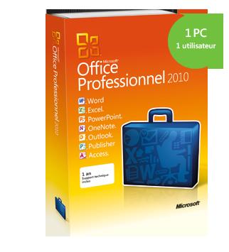 Microsoft Office Professional à un prix défiant toutes concurrences!   Fr_prd10