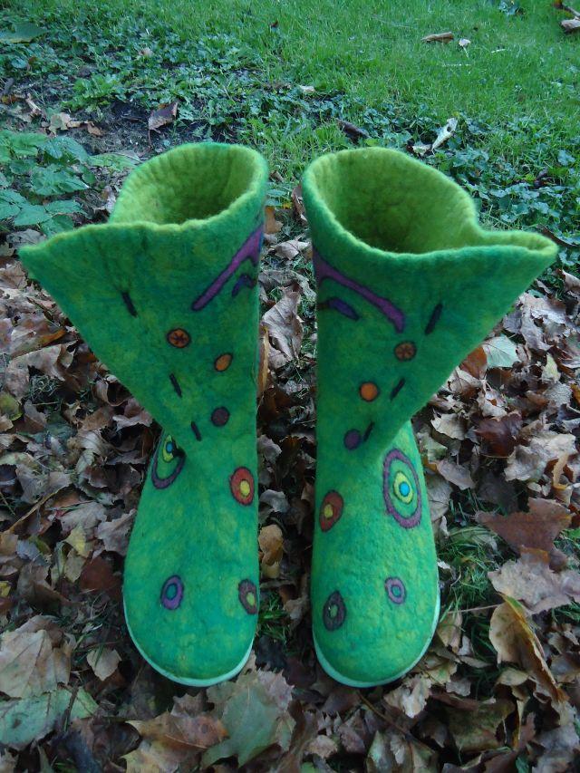"""Meine neuesten Schuhe. Ich nenne sie """"Herbstzeitlose"""" 113"""